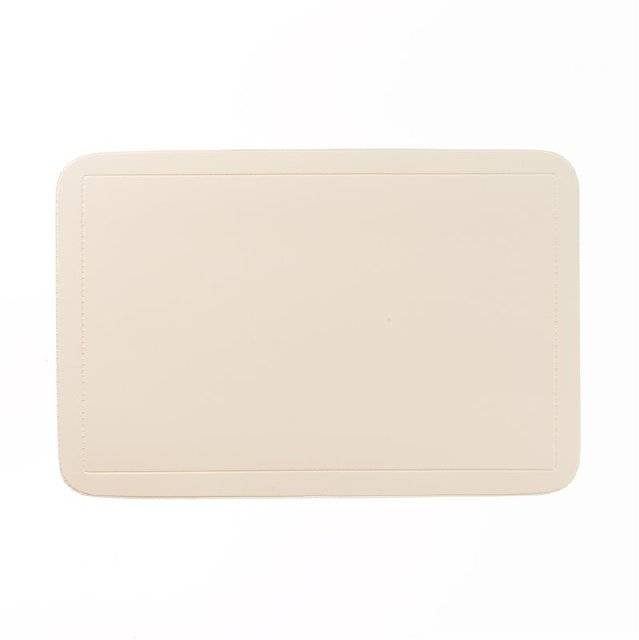 Prostírání UNI, PVC béžové 43,5x28,5cm - Kela