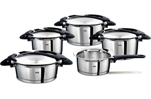 Sada nádobí nerezová - 5 dílná - Intensa® - Fissler