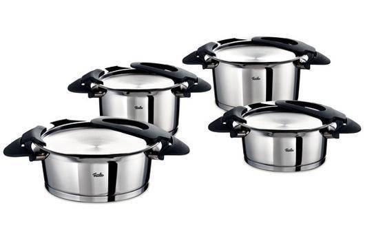 Sada nádobí nerezová - 4 dílná - Intensa® - Fissler