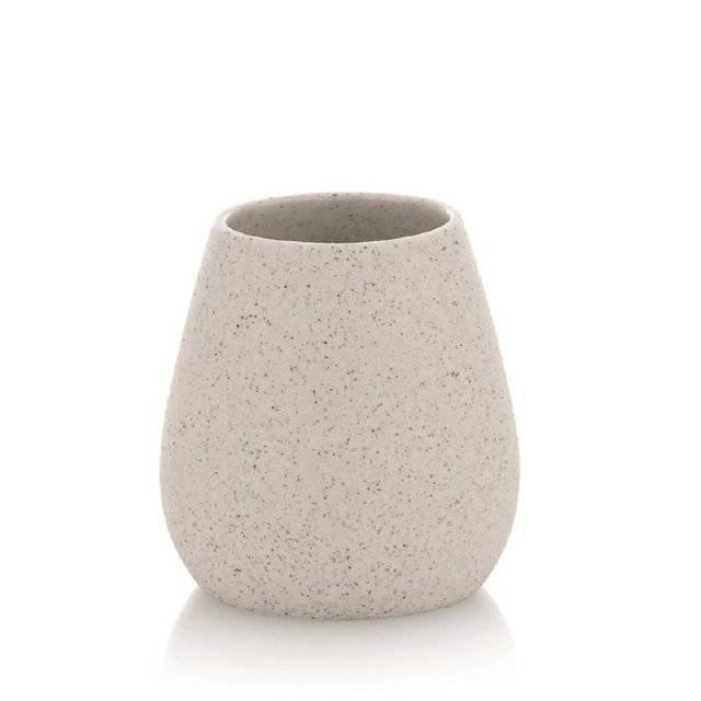 Pohár na kartáčky BARIUM keramika KL-21314 - Kela