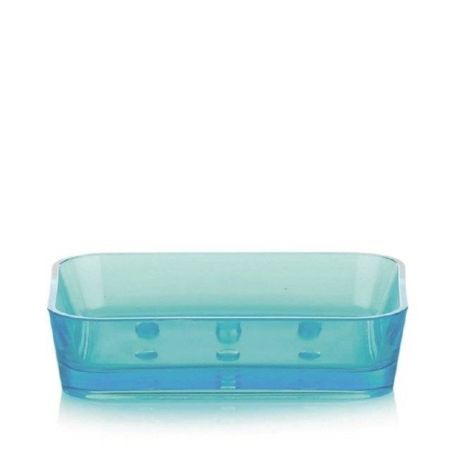 Miska na mýdlo KRISTALL tyrkys KL-21331 - Kela