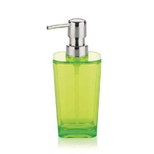 Dávkovač mýdla KRISTALL zelená KL-21337 - Kela