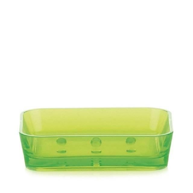 Miska na mýdlo KRISTALL zelená KL-21339 - Kela