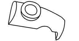 Bezpečnostní ventil pro tlakové hrnce O 18 cm Blue Point - Fissler