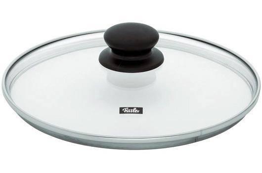 Poklice na tlakové hrnce Vitavit® – O 22 cm. tvrzené sklo - Fissler