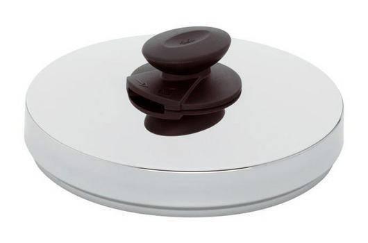 Poklice na tlakové hrnce Vitavit® – O 26 cm, nerez - - Fissler