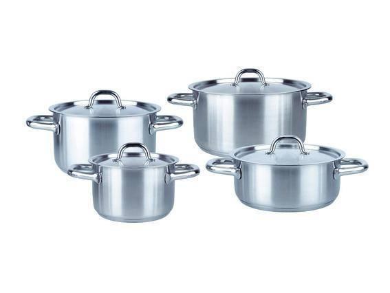 Sada nádobí nerezová - 4 dílná – Family-line - Fissler