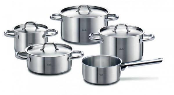 Sada nádobí nerezová - 5 dílná – Family-line - Fissler