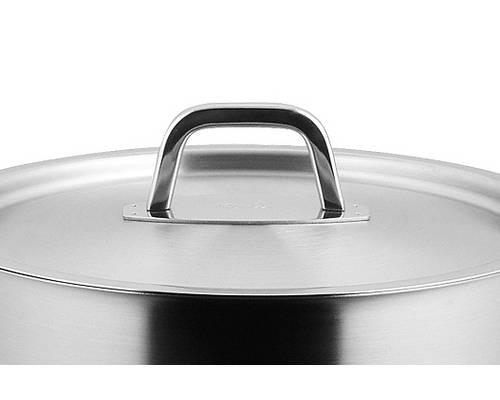 Poklice pro varné nádobí Structura - O 24 cm, nerez- - Fissler
