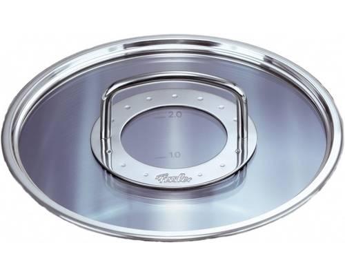 Poklice pro varné nádobí Profi Colection®- O 20 cm, sklo-nerez - - Fissler