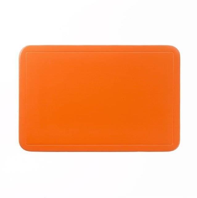 Prostírání UNI oranžové, PVC 43,5x28,5 cm KL-15003 - Kela