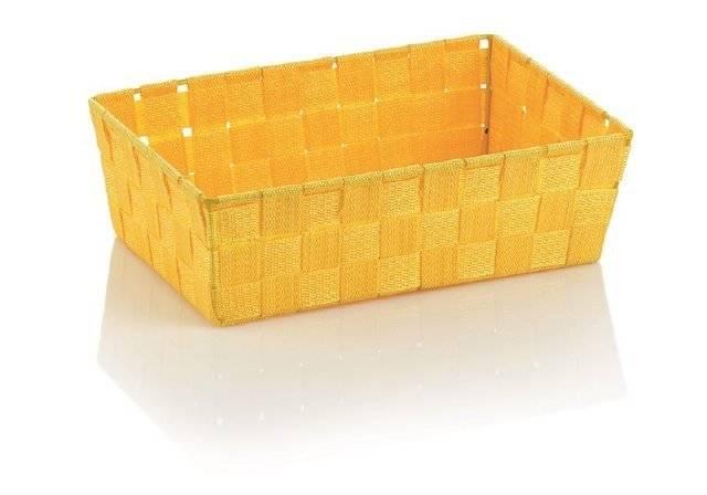 Koš ALVARO žlutá 29,5x20,5x8,5cm KL-23026 - Kela