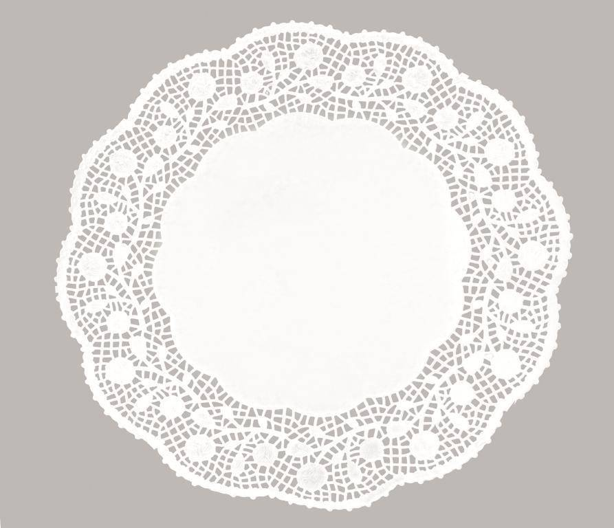 Dekorační papírová krajka 34cm - Ibili