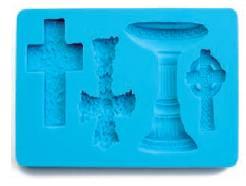 3D forma na fondant kříže - Ibili