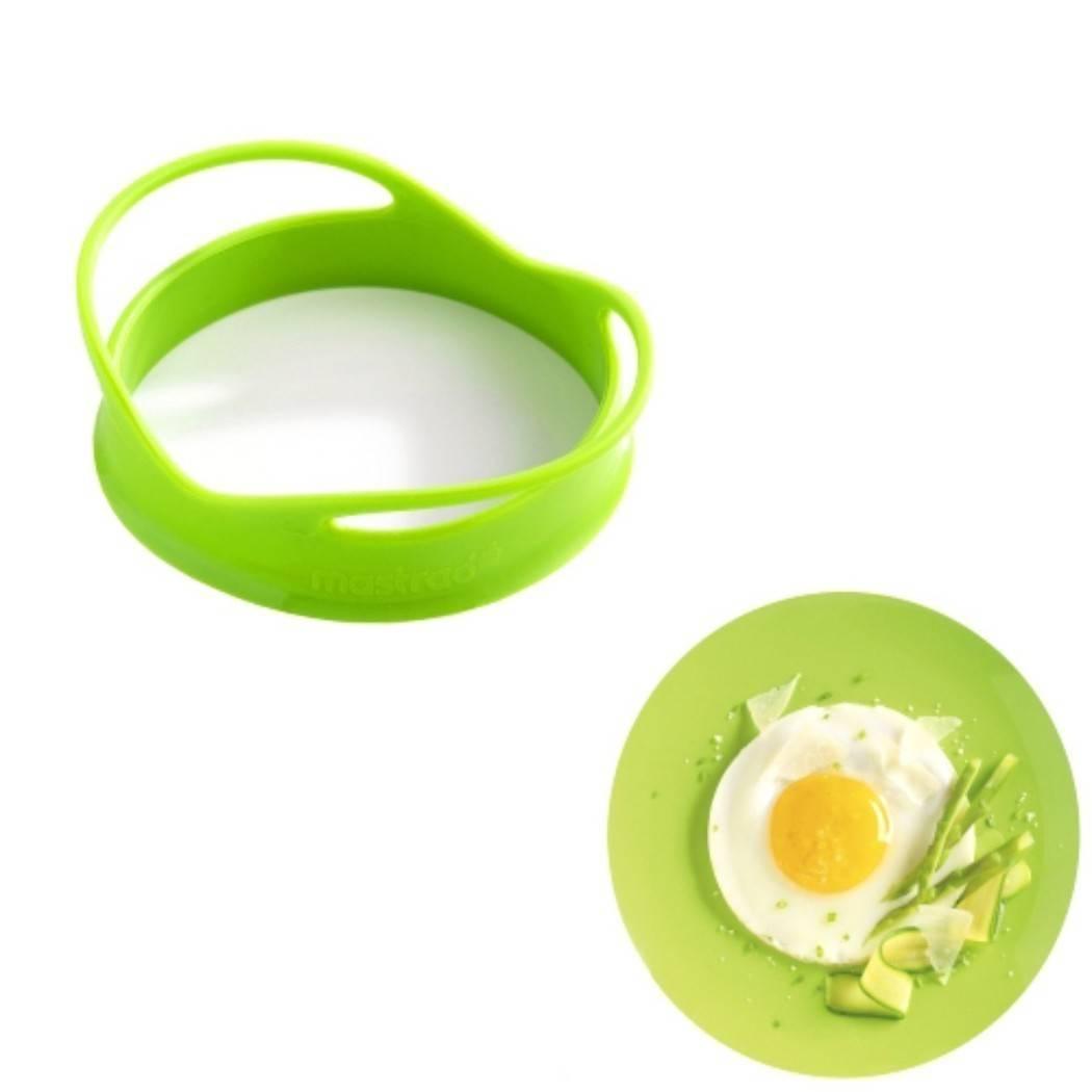 Silikonová forma na sázene vejce 2 ks - zelená - Mastrad