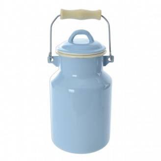 Konvice na mléko Belly - 2l modrá/béžová - Orion