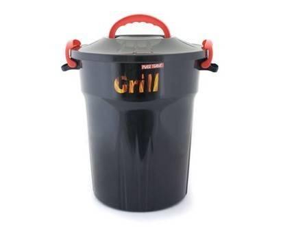 Úložný box na dřevěné uhlí 25L - BANQUET