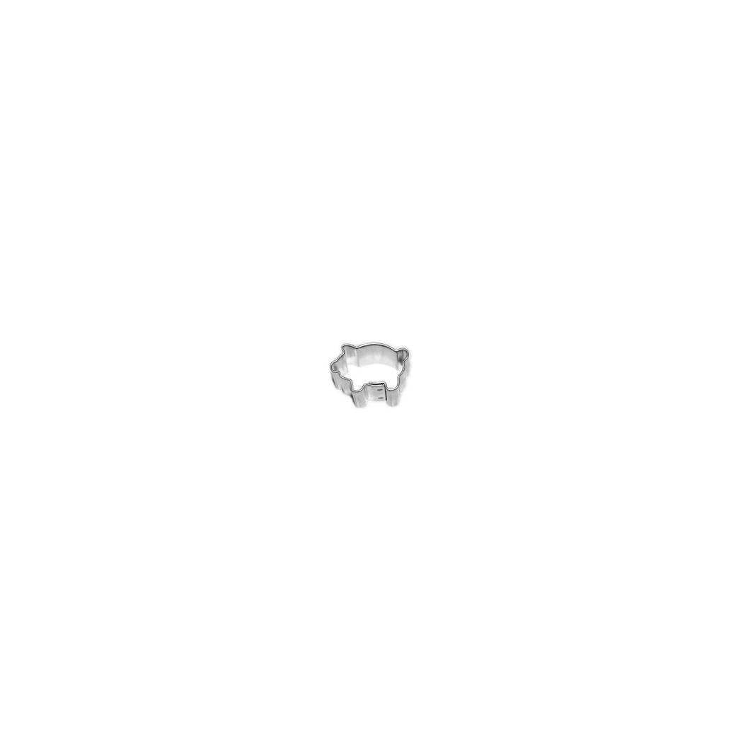 Vykrajovátko prasátko 1,8cm - Smolík
