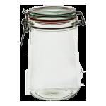 Zavařovací sklenice s klipem 1100 ml - BIOWIN