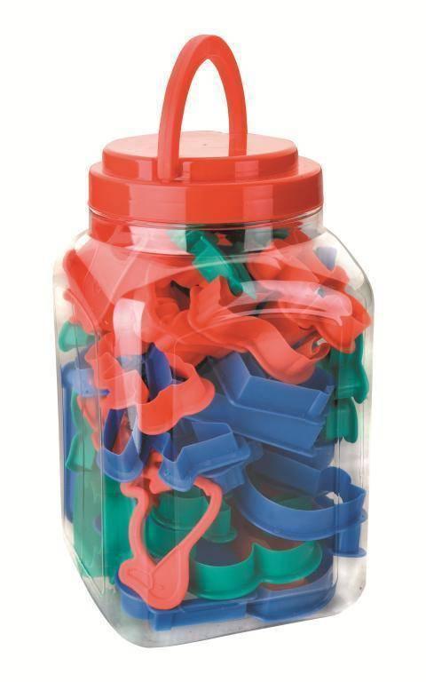 Plastová vykrajovátka zvířátka a vozidla set – 40ks - Ibili