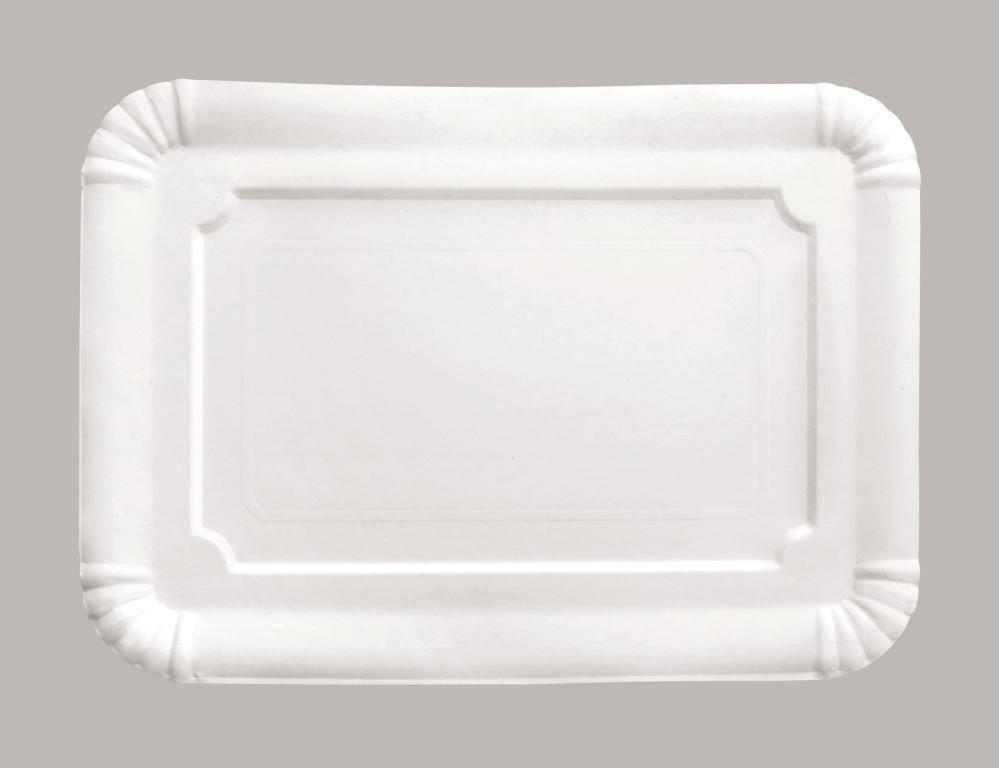 Papírový podnos obdélník 21x28cm set – 5ks - Ibili