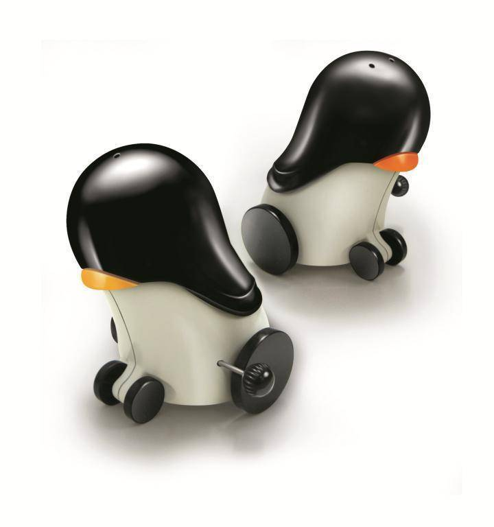Kořenky na sůl a pepř tučňáci - Ibili