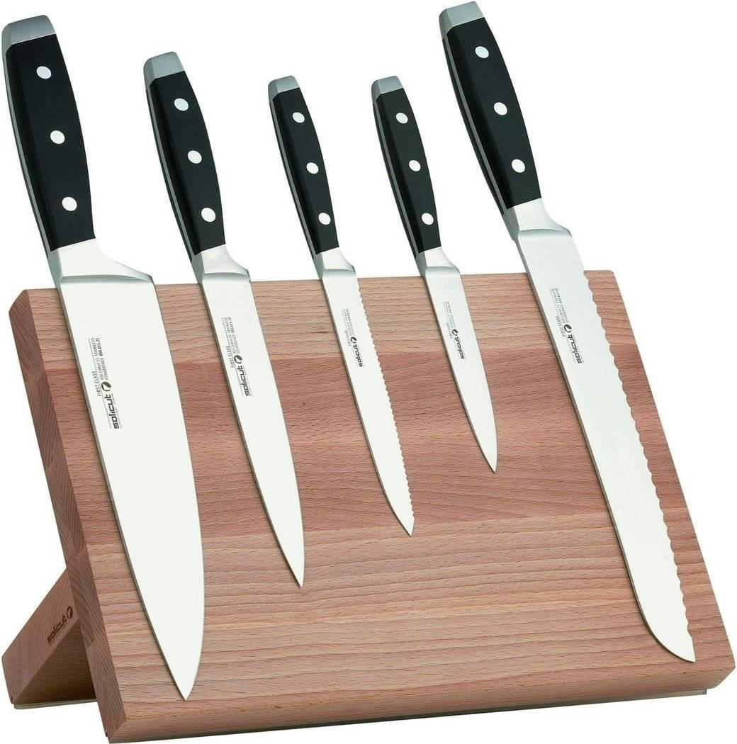 Sada 5ks kuchyňských nožů s magnetickým stojanem - Felix Solingen
