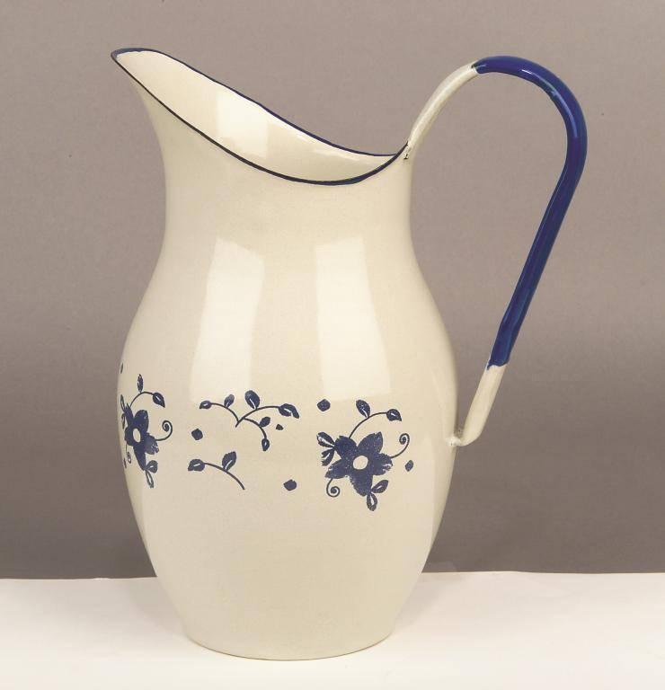 Smaltovaný džbán 2,5l - květy - Ibili