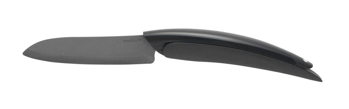 Keramický nůž skládací Mastrad černý 10cm - Mastrad