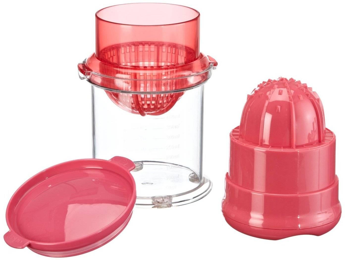 Ruční odšťavňovač červený - Mastrad