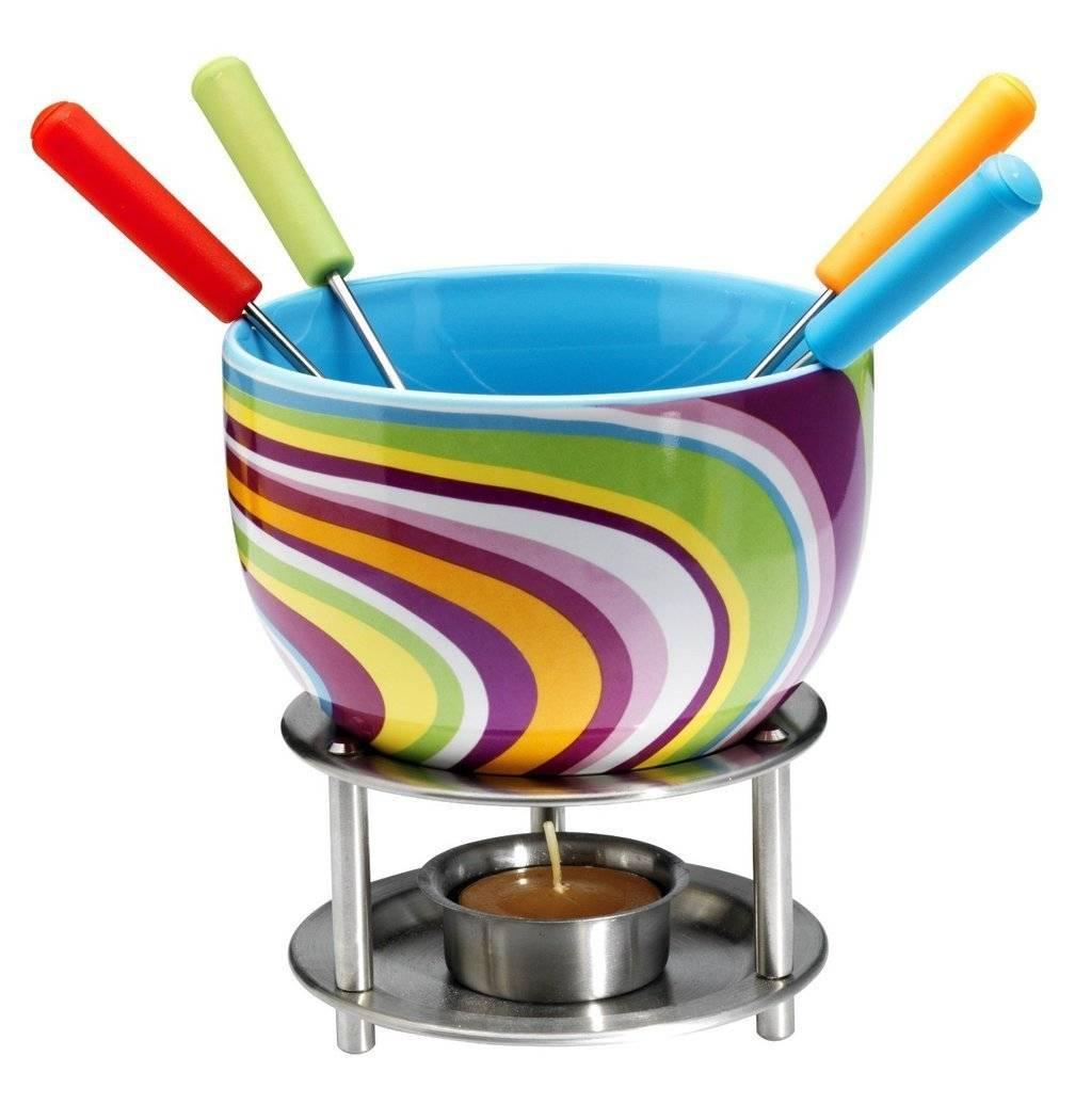 Keramická fondue sada Mastrad barevná - Mastrad