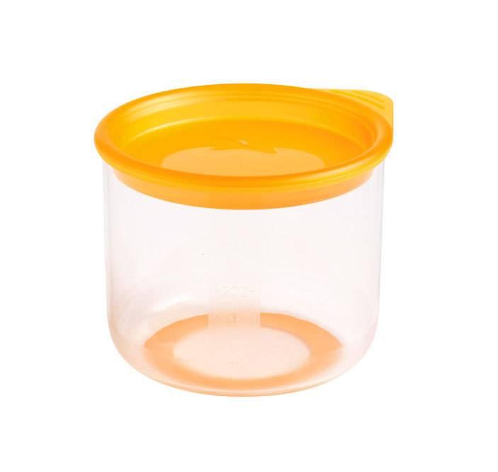 Skladovací miska s víkem pro děti Mastrad oranžová 300ml - Mastrad