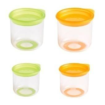 Skladovací misky s víkem pro děti Mastrad set – 4ks - Mastrad