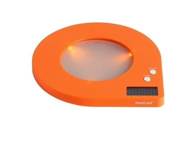 Kuchyňská váha digitální Mastrad retro 5Kg - oranžová - Mastrad