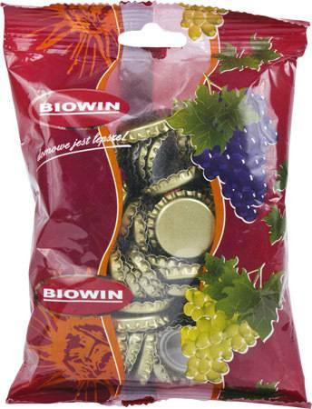 Zátky na pivní láhve - 100ks - BIOWIN