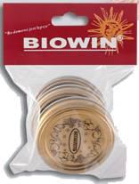 Víčka 70 - 3ks zlaté - BIOWIN