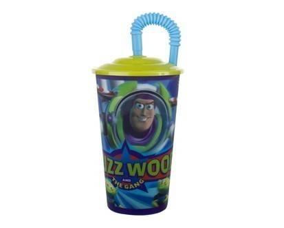Pohárek s víčkem 600ml Toy Story - BANQUET
