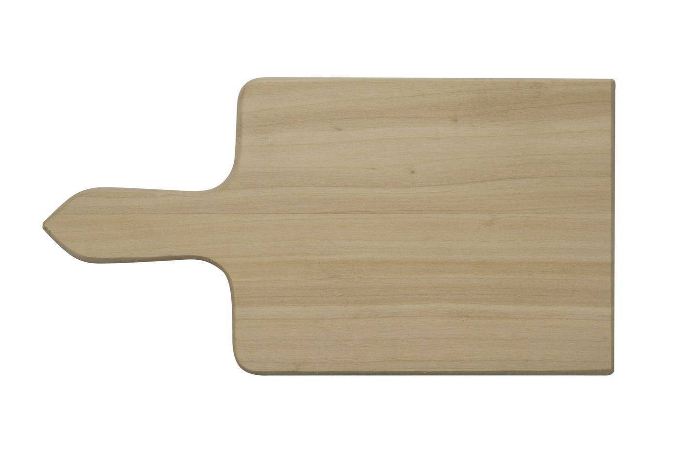 Prkénko s rukojetí na zeleninu, 240 x 135 x 12 mm - Dřevovýroba Otradov