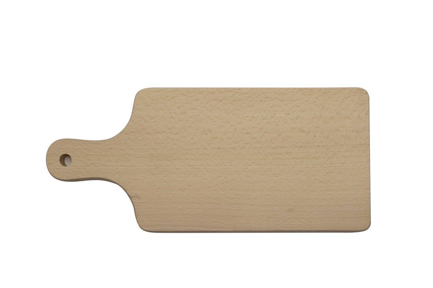 Prkénko s rukojetí na, 270 x 120 x 16 mm - Dřevovýroba Otradov