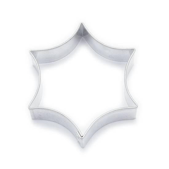 Vykrajovátko oblá hvězda 5,5cm - Smolík