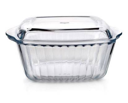 Pekáč s víkem skleněný 3l - BANQUET