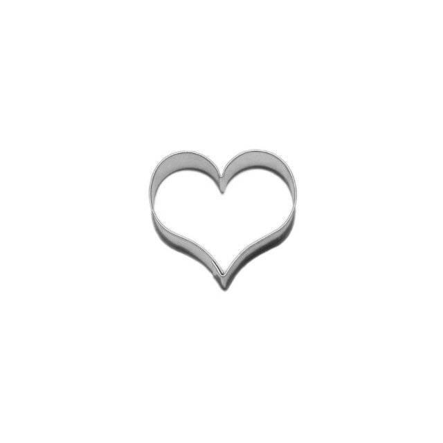 Vykrajovátko srdce 4,2cm - Smolík