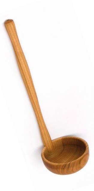 Naběračka hluboká dřevěná, třešeň - Klawe