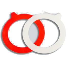 Zavařovací guma 92mm do sklenic s klipem - 10ks - BIOWIN