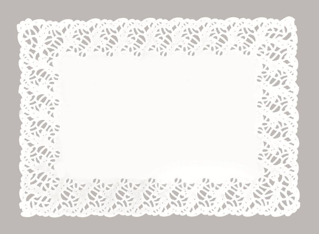 Dekorační papírová krajka 30x39cm - Ibili