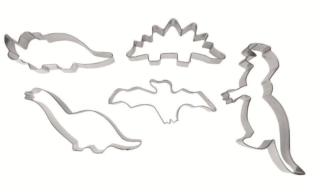 Vykrajovátka dinosauři set – 5ks - Ibili