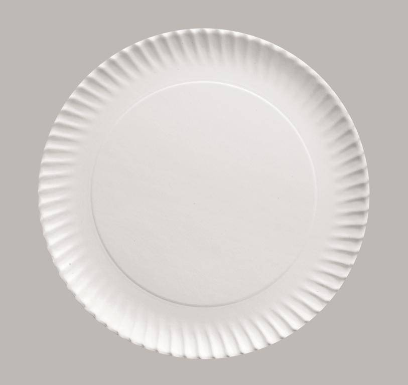 Papírový podnos kulatý 27cm set – 5ks - Ibili