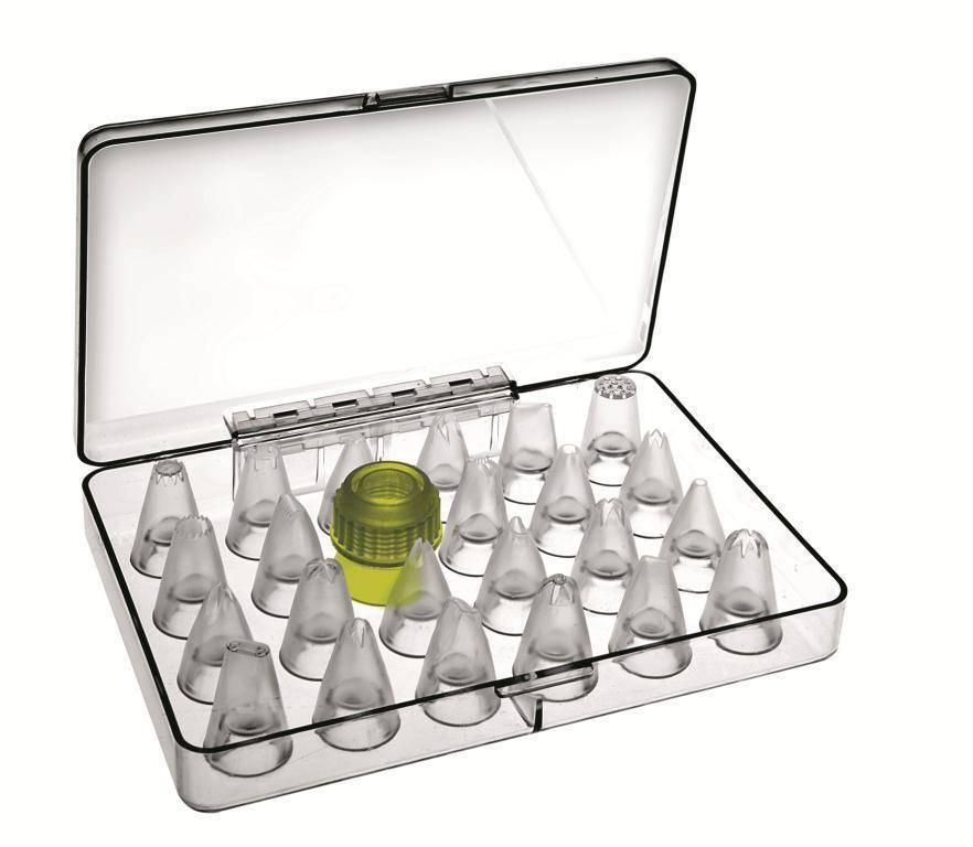 Plastový zdobící set – 23ks - Ibili