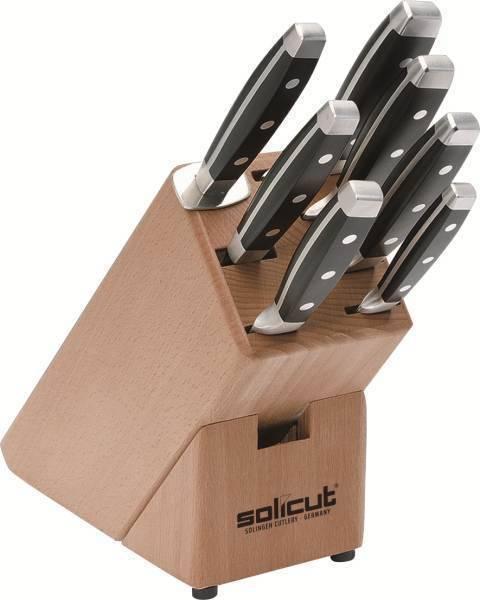 Sada 7ks kuchyňských nožů se stojanem - Felix Solingen