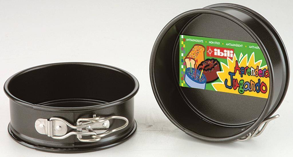 Černá forma na dort 12cm - Ibili